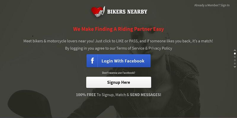 100 free bikers dating sites
